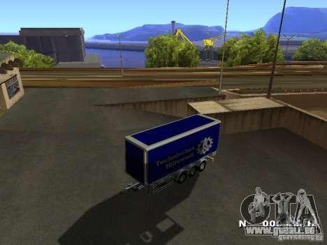Remorque pour Iveco Stralis pour GTA San Andreas