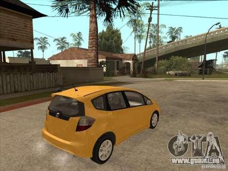 Honda Jazz (Fit) pour GTA San Andreas vue de droite