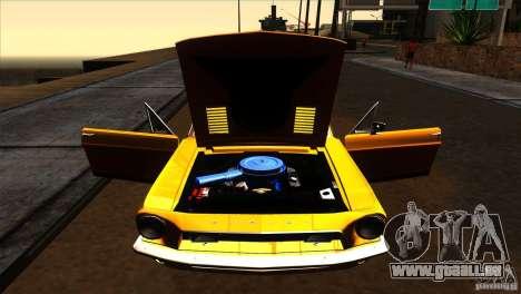 Shelby GT500KR pour GTA San Andreas vue de côté