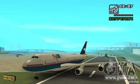 Avion de GTA 4 Boeing 747 pour GTA San Andreas