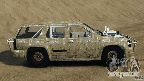 Chevrolet Tahoe 2007 GMT900 korch für GTA 4 linke Ansicht