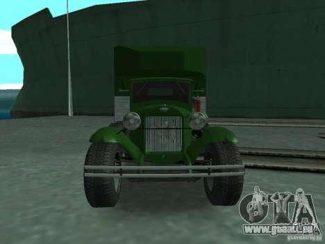 GAZ-AAA pour GTA San Andreas vue de droite