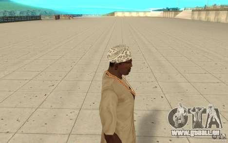 Bandana hellrider pour GTA San Andreas deuxième écran