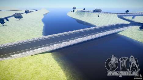 Top Gear Map pour GTA 4 cinquième écran