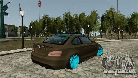 BMW 135i HellaFush pour GTA 4 est une gauche