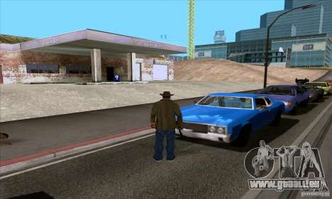ENB Series v1.4 Realistic for sa-mp für GTA San Andreas zehnten Screenshot
