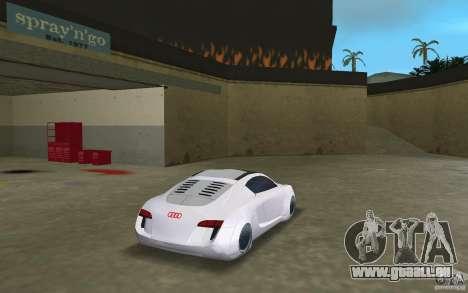 Audi RSQ concept pour GTA Vice City sur la vue arrière gauche