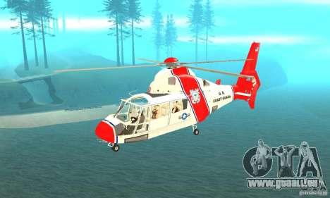 AS-365N United States Coast Guard pour GTA San Andreas