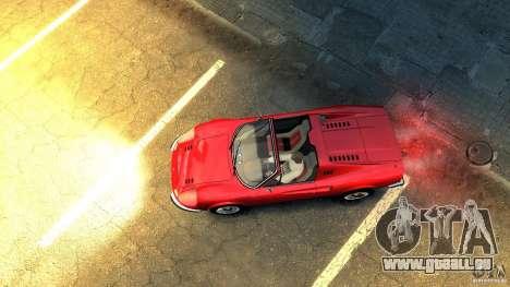 Ferrari Dino 246 GTS pour GTA 4 Vue arrière