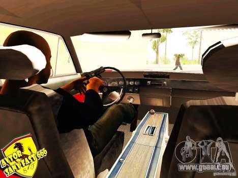 Dodge Charger Daytona Forsazh 6 für GTA San Andreas zurück linke Ansicht
