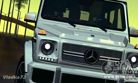Mercedes-Benz G65 AMG 2013 für GTA San Andreas rechten Ansicht