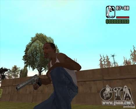 Revolver pour GTA San Andreas deuxième écran