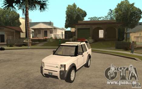 Land Rover Discovery 3 V8 pour GTA San Andreas