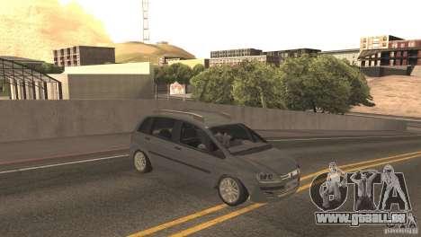 Fiat Idea HLX pour GTA San Andreas laissé vue
