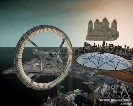 Stargate Atlantis für GTA 4 siebten Screenshot