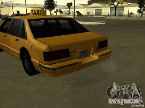 Realistische Textur des ursprünglichen Autos für GTA San Andreas dritten Screenshot