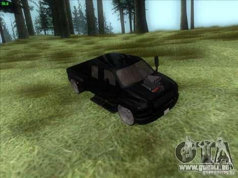 GMC C4500 Pickup DUB Style für GTA San Andreas Seitenansicht