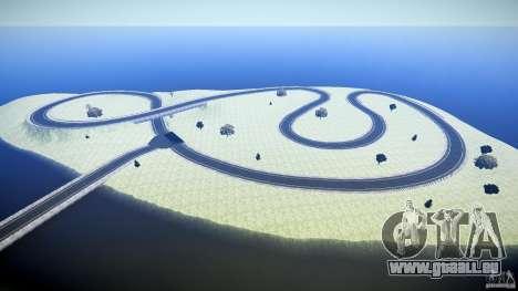 Top Gear Map pour GTA 4 quatrième écran