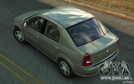 Dacia Logan 2008 pour GTA 4 est une gauche