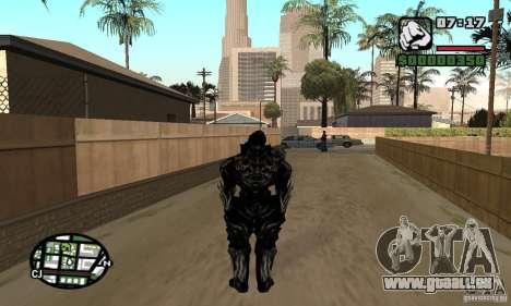 Alex Mercer v2 pour GTA San Andreas deuxième écran