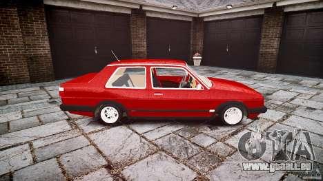 Volkswagen Jetta MKII VR6 pour GTA 4 est une vue de l'intérieur