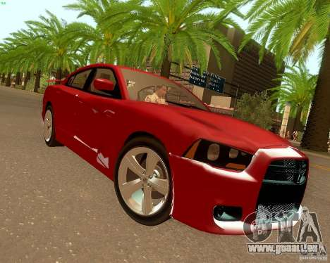 Dodge Charger SRT8 2012 für GTA San Andreas linke Ansicht
