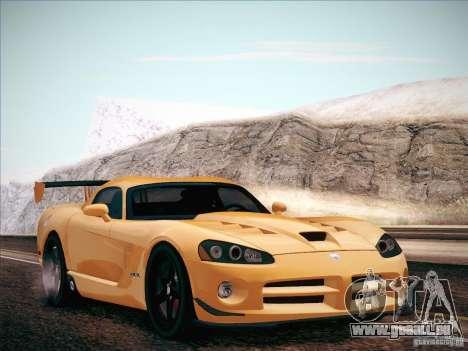 Dodge Viper SRT-10 ACR pour GTA San Andreas vue de droite