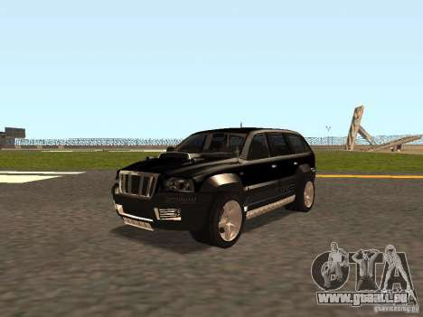 Jeep Grand Cherokee Black für GTA San Andreas