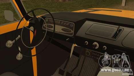Moskvitch 412 v2.0 pour GTA San Andreas vue arrière