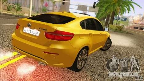 BMW X6M E71 v2 für GTA San Andreas linke Ansicht
