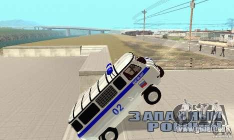 UAZ Police pour GTA San Andreas