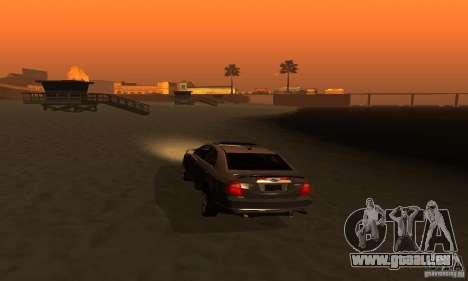 Ford Fusion Sport für GTA San Andreas Rückansicht