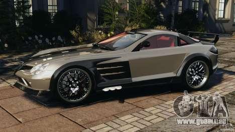 Mercedes-Benz SLR Volcano 2008 Hamann v1.0 pour GTA 4 est une gauche