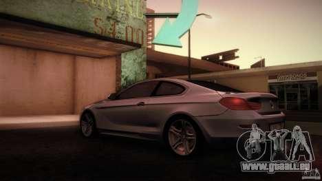 BMW 640i Coupe für GTA San Andreas zurück linke Ansicht