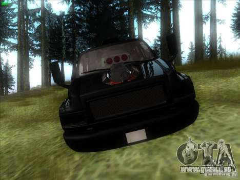 GMC C4500 Pickup DUB Style für GTA San Andreas Rückansicht