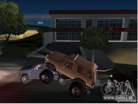 Ford Bronco IV Monster pour GTA San Andreas vue de côté