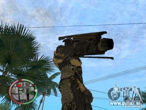 Armes exotiques de Crysis 2 v2 pour GTA San Andreas