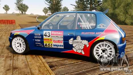 Peugeot 205 Maxi für GTA 4 linke Ansicht