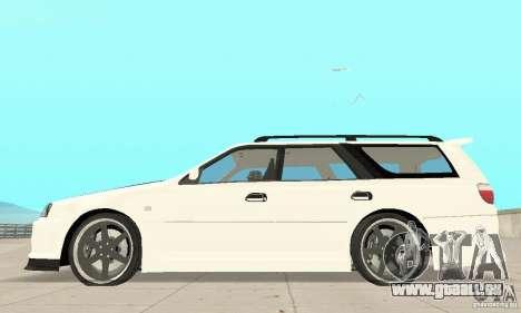 Nissan Stagea GTR pour GTA San Andreas vue arrière