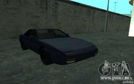 Nissan Onevia (Silvia) S13 pour GTA San Andreas vue arrière
