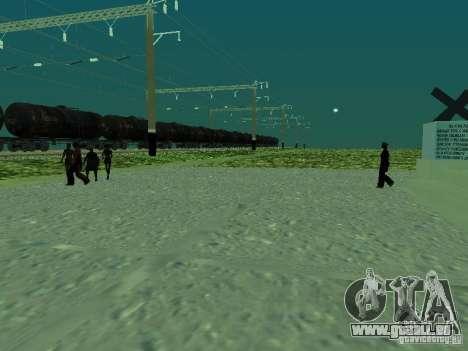 Prise en charge de réseau contact c. 2 pour GTA San Andreas deuxième écran