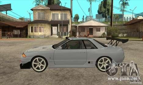 Nissan Skyline GT R R32 für GTA San Andreas linke Ansicht