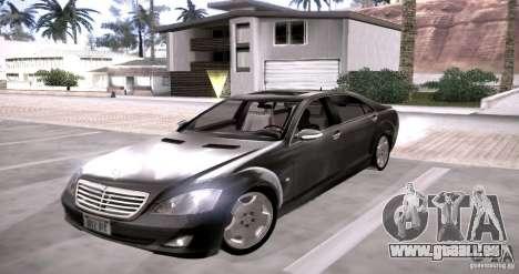 Mercedes-Benz S600 v12 für GTA San Andreas