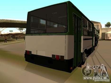 Trailer für IKARUS 280 33 m für GTA San Andreas zurück linke Ansicht
