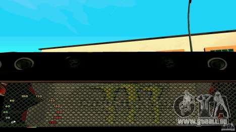 Elégie de fen1x pour GTA San Andreas vue arrière