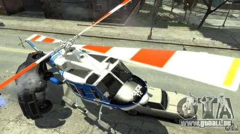 Bell412/NYPD Air Sea Rescue Helicopter pour GTA 4 est un droit