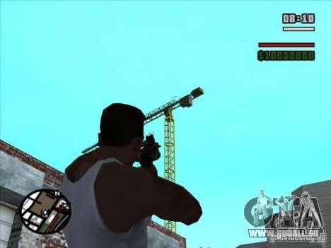 AK-74 (kein Lager) für GTA San Andreas dritten Screenshot