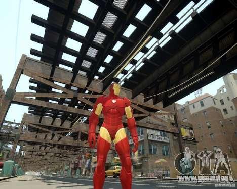Iron Man Mk3 Suit pour GTA 4 quatrième écran