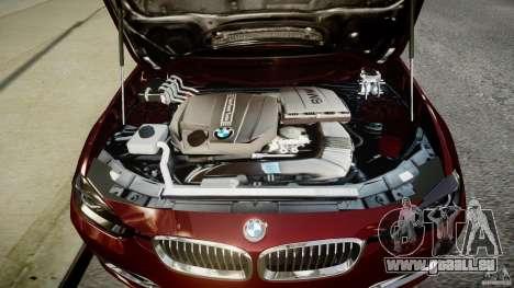 BMW 335i 2013 v1.0 für GTA 4 Rückansicht