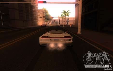 BMW Italdesign Nazca C2 1993 pour GTA San Andreas sur la vue arrière gauche